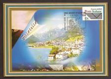 Italy 1999: Riccione, Fair Franc. - Official Postcard Poste Italiane