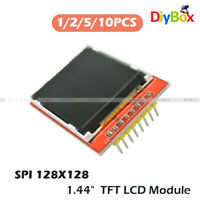 """1/2/5/10PCS 1.44"""" Red Serial 128X128 SPI Color TFT LCD Module Replace Nokia 5110"""