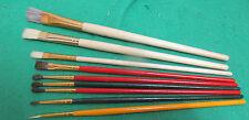 9 Pcs Artist Paint Brush Set for Watercolor Acrylic Oil Painting  smaller sizes