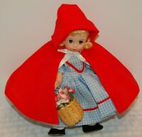 "Madame Alexander 8"" Collectible Doll Red Riding Hood with box"
