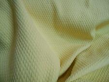 Soft Cotton Yellow Woven Matelassse Upholstery Fabric 3 yard piece