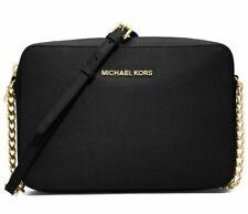 Michael Kors Jet Set 32S4GTVC3L Crossbody Bag, Large - Black