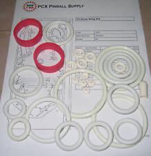 1979 Williams Tri Zone Pinball Rubber Ring Kit