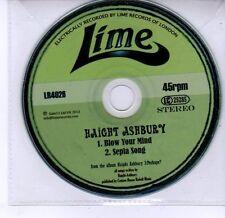 (DV267) Haight Ashbury, Blow Your Mind / Sepia Song - 2013 DJ CD