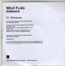(CB866) Wild Flag, Romance - 2011 DJ CD