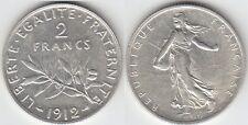 Gertbrolen 2 Francs Argent Type Semeuse 1912  Exemplaire N° 1