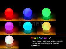 Cute Iridescent Ball Shaped LED Night Mood Light Lamp Color Change Decor