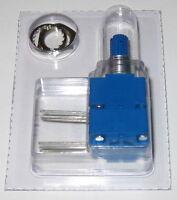 """Bourns Model 91 - Dual 100 kOhm - 5/8"""" Square Single Turn Panel Potentiometer"""