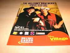 THE BELLAMY BROTHERS CONCERT 2002!!!FRENCH PRESS ADVERT