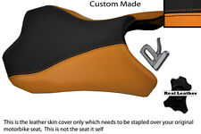 ORANGE & BLACK CUSTOM FITS KAWASAKI Z1000 10-13 FRONT RIDER SEAT COVER