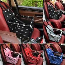 Folding Pet Dog Car Seat Safe Handbag Cat Puppy Travel Carrier Bed Bag Basket UK