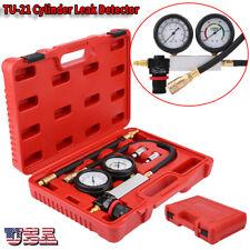 4pc Cylinder Leak Tester Petrol Engine Compression Leakage Leakdown Detector Set