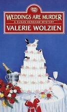 Weddings Are Murder No. 11 by Valerie Wolzien (1998, Paperback) Cozy Mystery