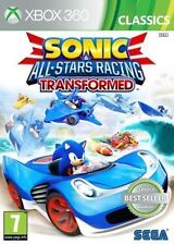 Sonic & All Stars Racing Transformed Kids Driving Game for Xbox 360