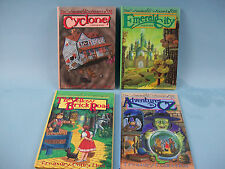 The Wonderful Wizard of Oz Pop Up Books, Treasury Collection 1991 PCH Set of 4