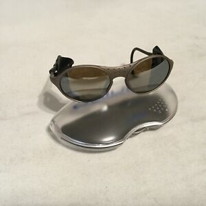 Vintage JULBO Sherpa Mountaineering Glacier Sunglasses SPECTRON 5 LENS case used