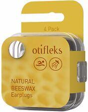 Otifleks Natural Beeswax Earplugs - 4pk