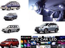 Subaru Forester Wagon 1998-2011 Bright White LED Interior Package (8pce)