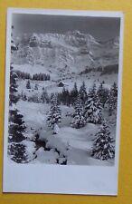 ET1388) CPA SUISSE SCHWEIZ SVIZZERA ski Ferienhaus Aueli Schwägalp - 1938