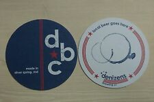 Beer Coaster ~ DENIZENS Brewing Co ~ Silver Springs, MARYLAND ~ Local Goes Here