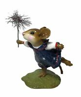 "Wee Forest Folk: ""Star Spangled Sparkler"" Forth Of July, Retired M-322A"
