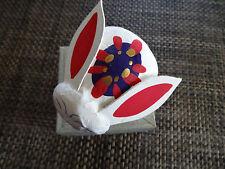 MINT with Original Box USAGI RABBIT hariko paper mache hand painted craft Japan
