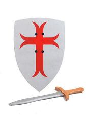 Holzschwert und Schild für Kinder ** Kreuz **
