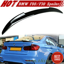 STOCK USA Painted #475 BMW 3-Series F30 F80 M3 4D V Type Trunk Spoiler 12-17