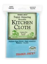 "Trader Joe's Super Amazing Reusable Kitchen Cloths, Two 14"" x 10"" Towels"