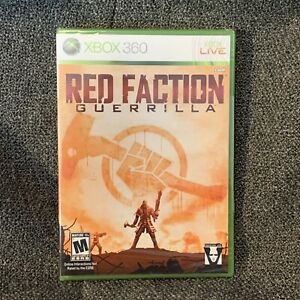Red Faction: Guerrilla (Microsoft Xbox 360, 2009) Brand New Sealed Read