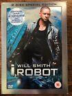 Will Smith I, ROBOT ~ 2004 Alex Proyas Sci-Fi GB 2-Disc DVD with Housse