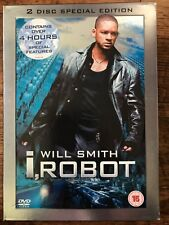 Will Smith I, ROBOT ~ 2004 Alex Proyas Sci-Fi UK 2-Disc DVD with Slipcover
