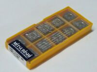 10 pcs MITSUBISHI Carbide inserts CNMG 432 MA / CNMG 120408-MA Grade VP15TF
