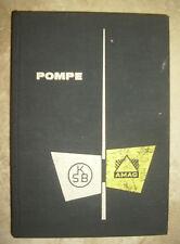 MANUALE KSB POMPE - KLEIN,SCHANZLIN & BECKER - ANNO:1962 (NV)