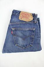 Mens Vintage LEVIS 501 Denim Jeans W30 L32 Regular Straight Leg Blue