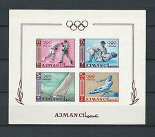 AJMAN - ARABIE DU SUD EST - 1965 YT 2 - NON DENTELÈ - BLOC - NEUF** MNH LUXE