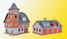 Vollmer N 47780 - Feuerwehrstützpunkt, fünfständig      Bausatz  Neuware