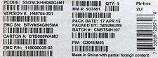 Intel SSDSCKHB080G4 EMC SSD DC S3500 Series 80GB, M.2 SATA 6Gb/s, 20nm, MLC NEW