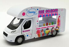 Ice Cream Van - Welly / Kinsmart Pull Back & Go Car