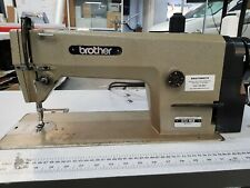 Brother B755 Industrial Sewing Machine, Complete on a 240v stand - CAN DELIVERY