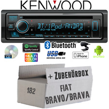 Kenwood Radio für Fiat Bravo / Brava 182 Bluetooth iPhone Android CD/MP3/USB Set