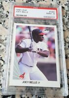 ALBERT JOEY BELLE 1990 Leaf Rookie Card RC Low # PSA 9 MINT Indians 381 HRs $$$