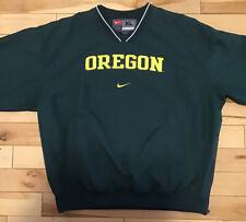 University of Oregon Green Nike Wind Shirt Pullover L/S Men's Size XL