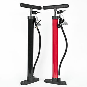 Komodo High Pressure Floor Standing Bike Pump Cycle Bicycle Tyre Hand Air Mini