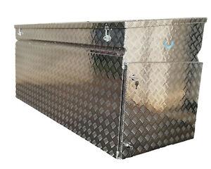 Pritschenbox Werkzeugkiste Fahrzeugbox Truckbox Pritschenkiste 995 L Seitentür