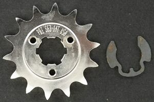 PBI - 663-14 -  Front Countershaft Sprocket, 14T - Made In USA