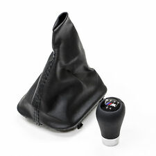 BMW E30 Shift Boot GENUINE REAL LEATHER with ZHP Style Shift Knob M3 325is 325i