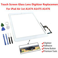 Touch Screen Glass Digitizer Home Button Assembly for iPad Air 1st Gen A1474/5/6