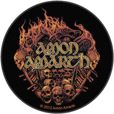 Amon Amarth Men's Battlefield Woven Patch Black