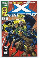 1991 Marvel Comics X-Factor #71 Cutting the Mustard The All New All Different